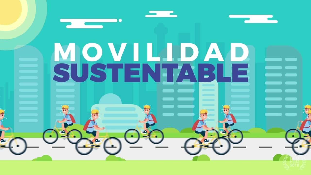 Video Animado Movilidad Sustentable